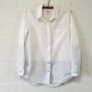 Equipment button down two-tone shirt